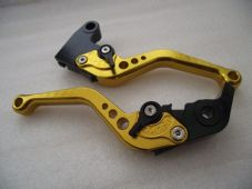 Triumph DAYTONA 675 R (11-15), CNC levers short gold/black adjusters, F11/T333